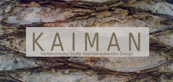 Logo KAIMAN_mit Hintergrund mit Schriftzug kleiner